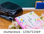 congratulatory gift image of... | Shutterstock . vector #1256711569