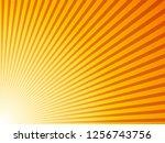 sunburst background. vector... | Shutterstock .eps vector #1256743756