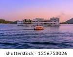 the lake palace initially... | Shutterstock . vector #1256753026