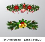 christmas elements for your... | Shutterstock .eps vector #1256754820