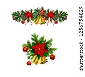 christmas elements for your... | Shutterstock .eps vector #1256754829
