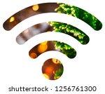 wifi signal symbol | Shutterstock . vector #1256761300