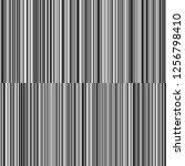line variable thickness black... | Shutterstock .eps vector #1256798410