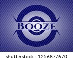 booze with jean texture   Shutterstock .eps vector #1256877670