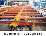mechanical equipment and... | Shutterstock . vector #1256886553