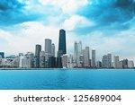 finance district | Shutterstock . vector #125689004