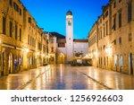 classic panoramic view of... | Shutterstock . vector #1256926603