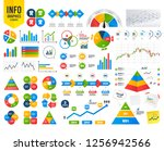 business infographic template.... | Shutterstock .eps vector #1256942566