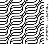 design seamless monochrome... | Shutterstock .eps vector #1256959879