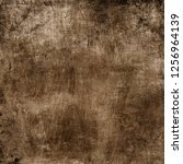 grunge background with space... | Shutterstock . vector #1256964139