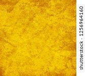 yellow grunge background | Shutterstock . vector #1256964160