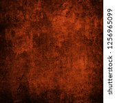 grunge background with space... | Shutterstock . vector #1256965099