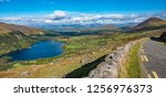 glanmore lake  along the ring... | Shutterstock . vector #1256976373
