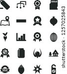 solid black vector icon set  ... | Shutterstock .eps vector #1257025843
