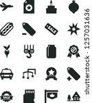 solid black vector icon set  ... | Shutterstock .eps vector #1257031636