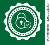 secured icon emblem  label ...
