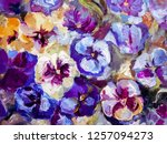 Abstract Flowers Illustration ...