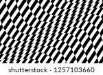 black and white design. pattern ... | Shutterstock .eps vector #1257103660