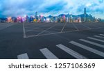 panoramic view of the city s... | Shutterstock . vector #1257106369