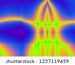 beautiful colorful abstract... | Shutterstock . vector #1257119659
