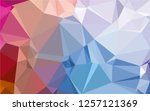 multicolor background.... | Shutterstock .eps vector #1257121369