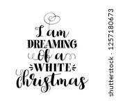 """i am dreaming of a white... 