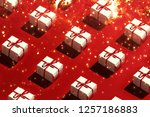 merry christmas and happy new... | Shutterstock . vector #1257186883