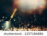 new year 2019 celebration... | Shutterstock . vector #1257186886