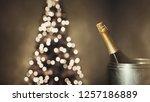 new year 2019 celebration... | Shutterstock . vector #1257186889
