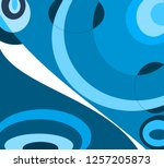 colorful  and  wallpaper   | Shutterstock . vector #1257205873