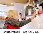 little boypay off currency note.... | Shutterstock . vector #1257219133