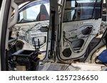 disassembled body white... | Shutterstock . vector #1257236650