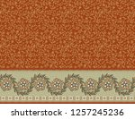 seamless textile background... | Shutterstock . vector #1257245236