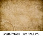 old map abstract vintage... | Shutterstock . vector #1257261193
