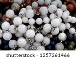 background pattern of... | Shutterstock . vector #1257261466