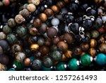 background pattern of... | Shutterstock . vector #1257261493
