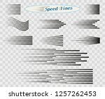 set of vector different options ... | Shutterstock .eps vector #1257262453