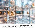 28 july 2018  cosmocaixa ... | Shutterstock . vector #1257273916
