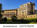palermo palace of normans ... | Shutterstock . vector #1257278290