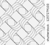 vector seamless pattern.... | Shutterstock .eps vector #1257279103