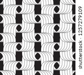 vector seamless pattern.... | Shutterstock .eps vector #1257279109