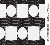 vector seamless pattern.... | Shutterstock .eps vector #1257279130