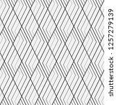 vector seamless pattern.... | Shutterstock .eps vector #1257279139