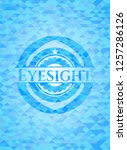 eyesight realistic sky blue... | Shutterstock .eps vector #1257286126