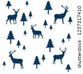 wallpaper with a pattern of...   Shutterstock .eps vector #1257317410