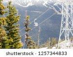 whistler british columbia... | Shutterstock . vector #1257344833