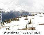 whistler british columbia... | Shutterstock . vector #1257344836