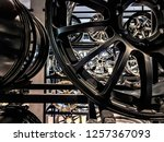 close up of magnesium alloy car ... | Shutterstock . vector #1257367093
