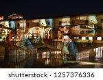 italy  florence  december 2018  ... | Shutterstock . vector #1257376336