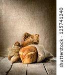 bread assortment on background...   Shutterstock . vector #125741240